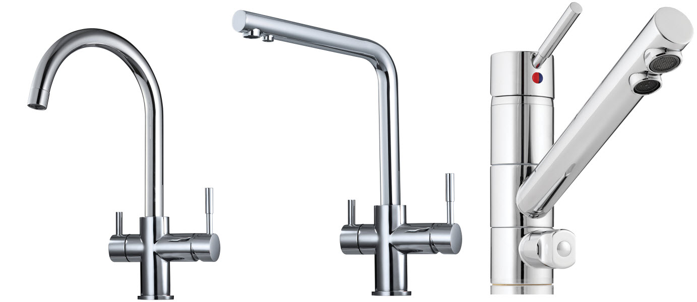 3 Way Mixer Taps